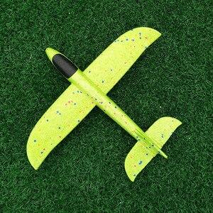 Image 4 - 2019 diy crianças brinquedos mão jogar voando planador aviões espuma avião modelo festa saco enchimentos voando planador avião brinquedos para jogos