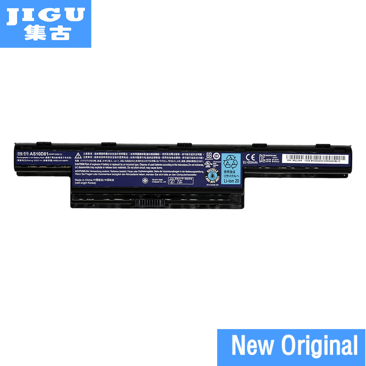 JIGU AS10D31 AS10D3E AS10D41 AS10D51 AS10D56 AS10D61 AS10D71 AS10D73 AS10D75 AS10D81 Original batería del ordenador portátil para ACER