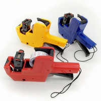 Manual Price Labeller Labeler Digital Price Production Date Tag Gun Retail Tool Labeling Machine