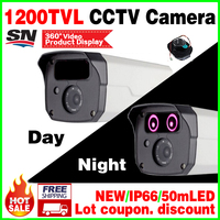 Hot Sale 1 4Cmos HD 1200TVL Outdoor Color CCTV Surveillance Security Ahdl Hd Camera Infrared Night