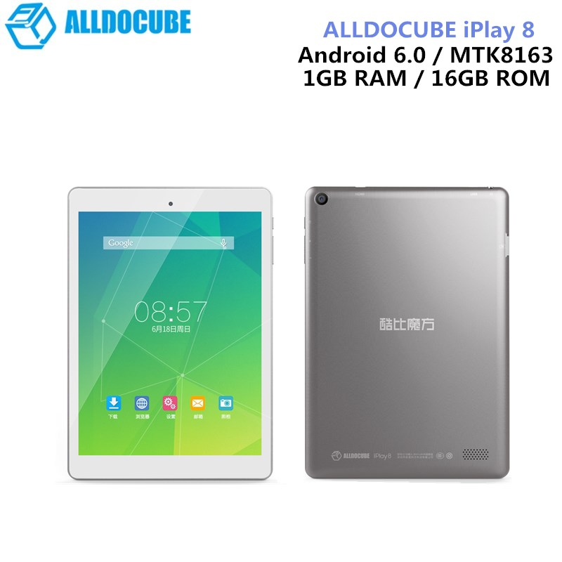 цена на ALLDOCUBE IPlay 8 Tablets 7.85 Inch Android 6.0 MTK8163 Quad Core HDMI GPS 1024 X 768 IPS Dual Wifi 1GB 16GB OTG Tablets PC