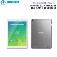 ALLDOCUBE IPlay 8 Tablets 7.85 Inch Android 6.0 MTK8163 Quad Core HDMI GPS 1024 X 768 IPS Dual Wifi 1GB 16GB OTG Tablets PC