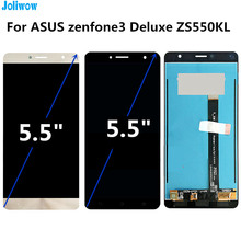 Tested! For Asus Zenfone 3 Deluxe ZS550KL Z01FD LCD Display+ Touch Screen Digitizer Assembly Replacement Accessories все цены