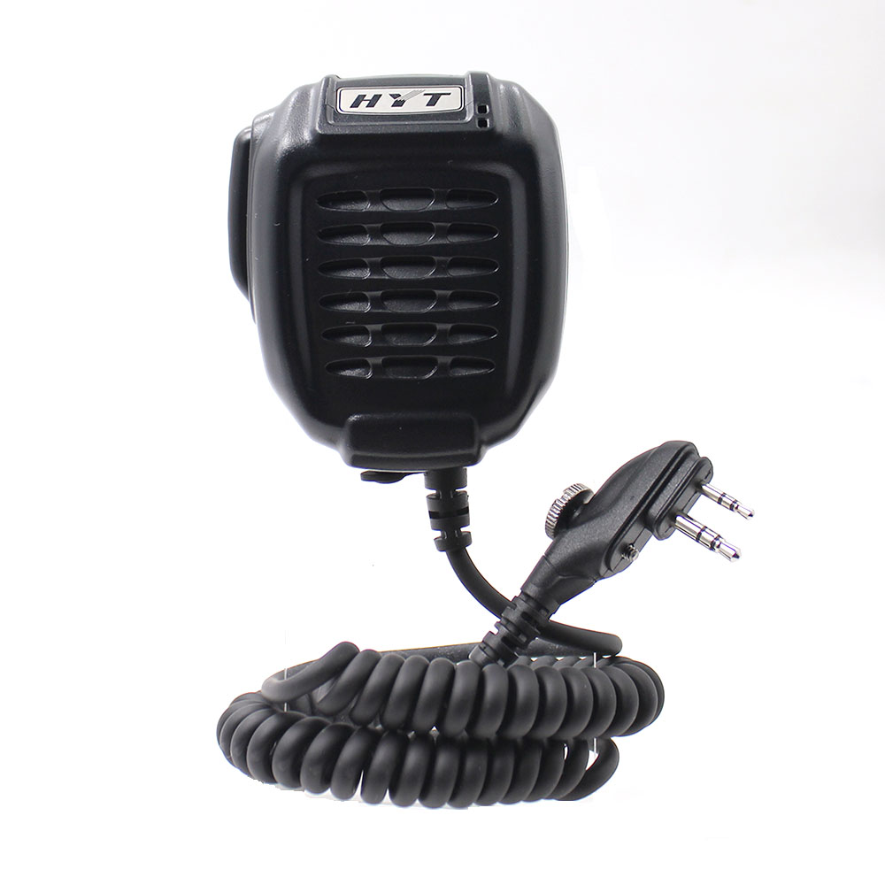 HYT SM08M3 Handheld Mic Walkie Talkie IP54 Rain Proof PTT Speaker With Flexiable Cable For HYT TC-510 TC-610 TC700 TC-508 Radio
