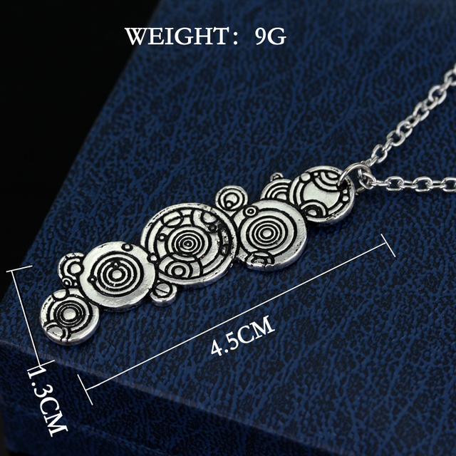 Hot Sale – Doctor Who Vintage Chain Long Pendant & Necklace