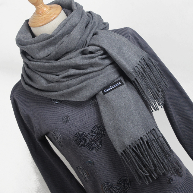 Women's Scarves Tassel Long Blanket- Scarf Pashmina Cashmere Scarf Wrap Shawl High Quality