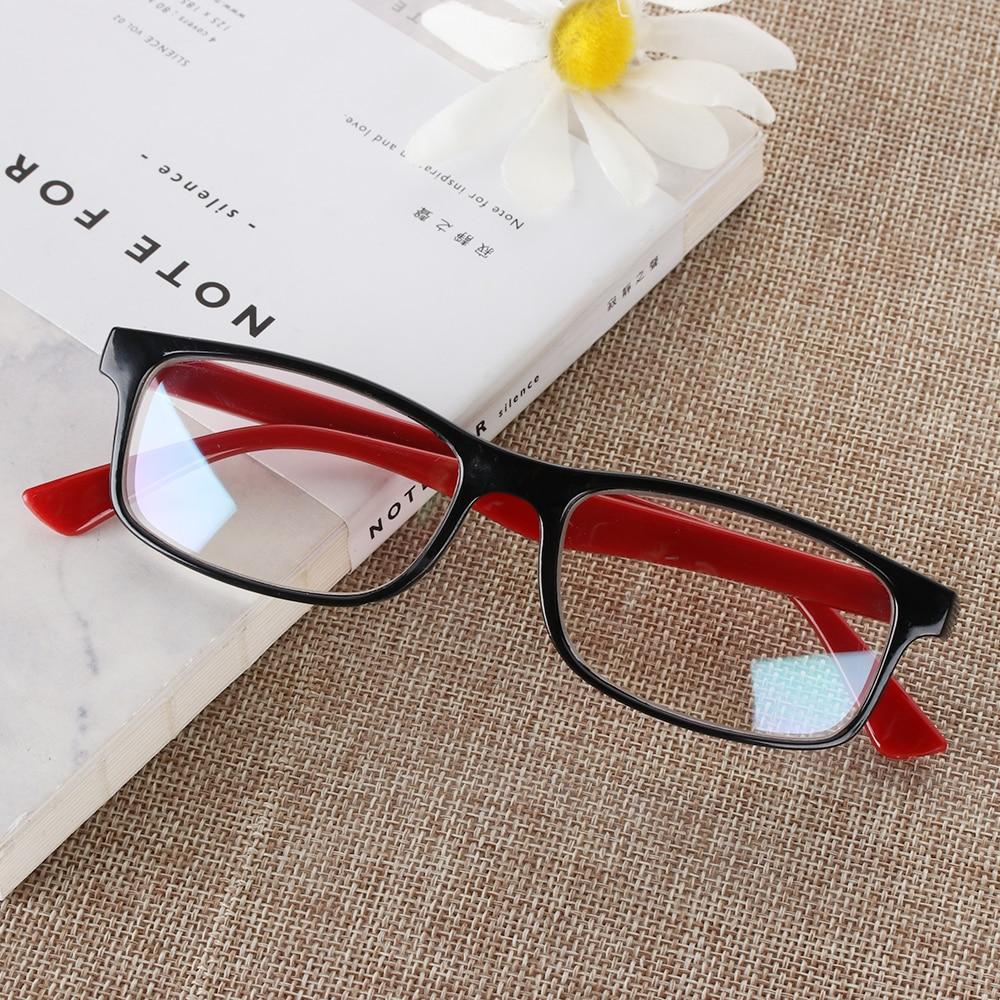 1Pc High Quality PC Anti Blue Rays Radiation Eyeglasses Multicolor Anti-UV UV400 Unisex Flat Mirror Computer Goggles Eyeglasses