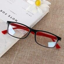 1Pc wysokiej jakości PC anty niebieskie promienie promieniowania okulary Multicolor Anti-UV UV400 Unisex płaskie lustrzane gogle komputerowe okulary