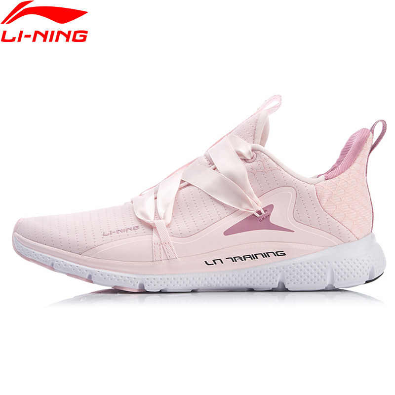 a24af6beb ... Li-Ning Women JING HONG Training Shoes Light Weight Free Flexible LiNing  Comfort Breathable Sport ...
