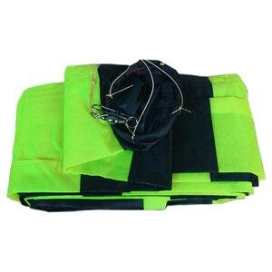 Аксессуары для спортивных змей на открытом воздухе, 10 м, черный с зеленым 3D/трубчатым хвостом для Delta Kite/Stunt/программное обеспечение, воздушн...