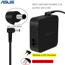 ASUS 19V 4.74A 4.5*3.0mm AC Laptop Power Adapter Travel Charger for Asus ADP-90Y