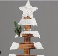 Christmas Home Decoration Mini Artificial Wood Christmas Tree