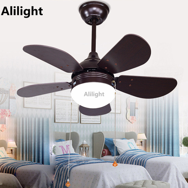 Aliexpress buy led iron glass ceiling fans with light led iron glass ceiling fans with light suspension lamp wooden leaf fan lamp foyer bedroom living aloadofball Image collections
