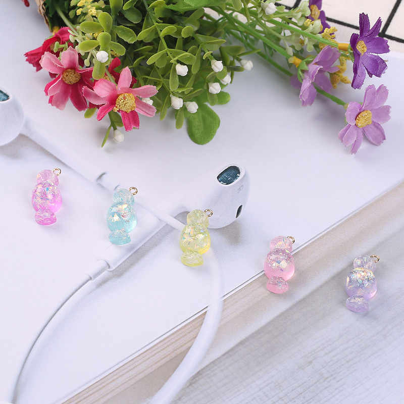 20pcs 12*23mm shiny sweet candy charms resin charms necklace pendant keychain charms for DIY decoration