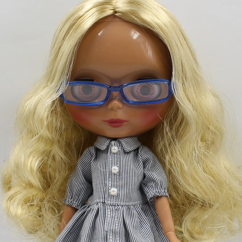 Neo Blythe Doll Heart & Boxes Shaped Glasses 14