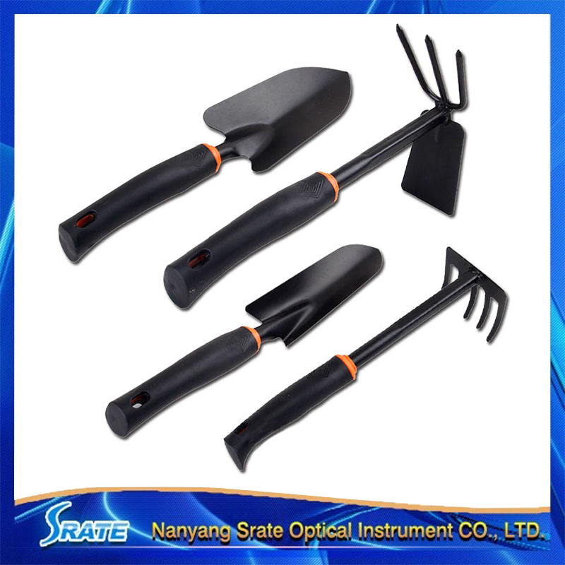 4 PCS Shovel Hoe Rake Plantvege Garden Tool Sets Gardening Equipment for Flower Growing Pot Culture