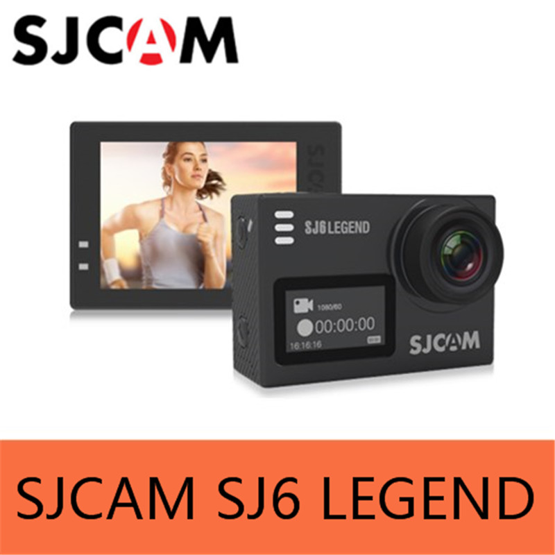 SJCAM SJ6 LEGEND Camera 4K 24fps Ultra HD Notavek 96660 Waterproof Action Camera 2 0 Touch