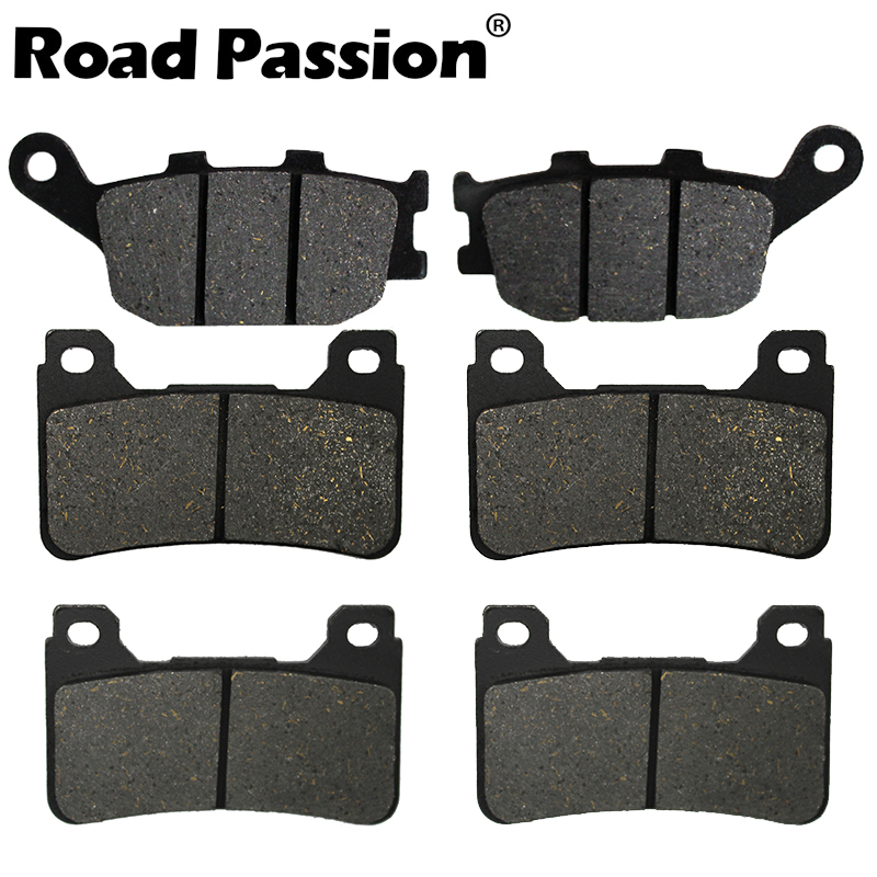 Road Passion Motorbike Front & Rear Brake Pads For HONDA CBR1000RR CBR 1000 RR (2004 2005) CBR600RR 600 (2005-2006)