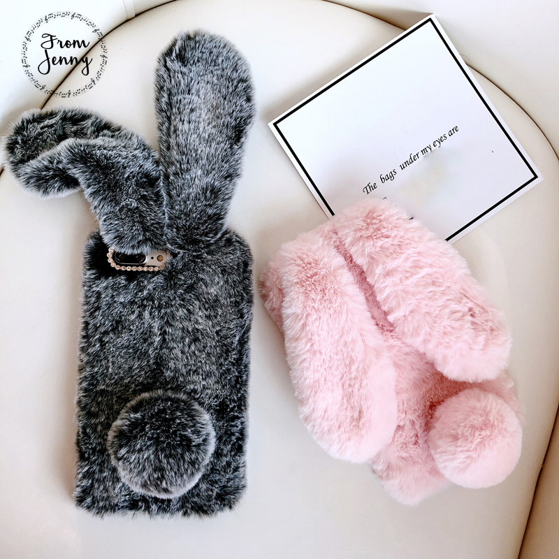 Aliexpress.com : Buy From Jenny Fluffy Rabbit Phone Case