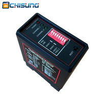 Double loop dual channel vehicle loop detector for parking access