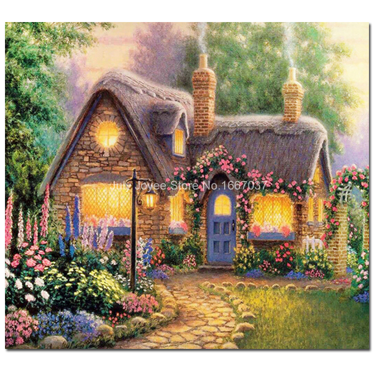 Home Design 3d Outdoor Garden On The App Store: Home Fairy Tale 3D Dreamlike Picture Mosaic Kit Diamond