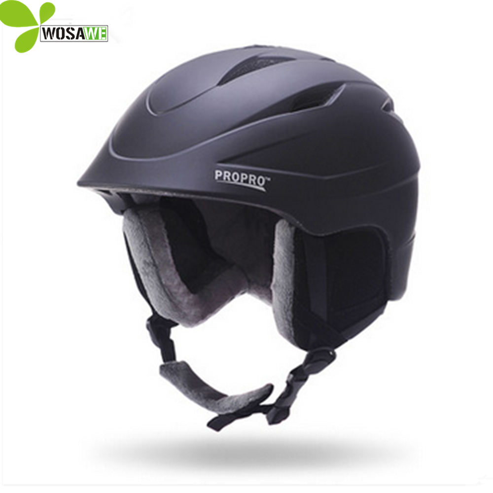 PROPRO EPS PC Material adult skiing helmet for scooter shockproof cycling skating safe sports helmets skateboarding helmets pink ski helmets cover motorcycle skiing helmets best outdoor safety helmet for skiing snowboard skating adult men women