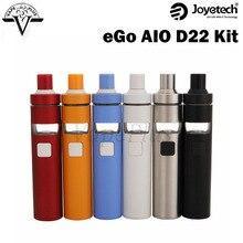 Joyetech eGo AIO D16 D22 All-in-One Starter Kitกับ2มิลลิลิตรAtomzierและ1500มิลลิแอมป์ชั่วโมงแบตเตอรี่บุหรี่อิเล็กทรอนิกส์อาตมาaioชุดVaporizer