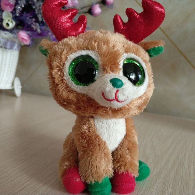 6a31244bc7a TY BEANIE BOOS collection 1PC 15CM alpine reindeer Plush Toys Stuffed  animals soft toys buddly toys