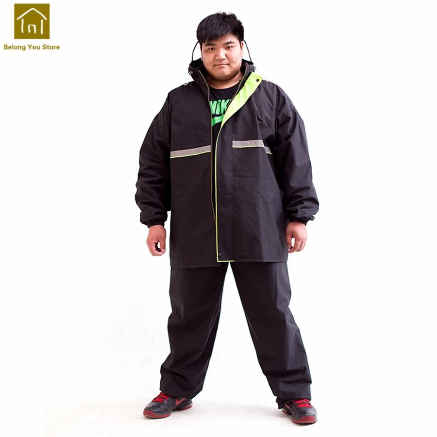 968e6b41213 Plus Size Raincoat Fishing Rain Jacket Camouflage Rain Coat Suit Women  Waterproof Jackets Capa Impermeable Para