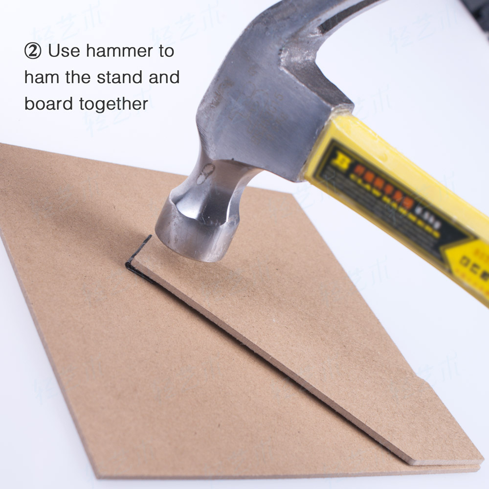 DIY Supply Photo Frame Accessaries Handmade PVC Wood Back Board ...