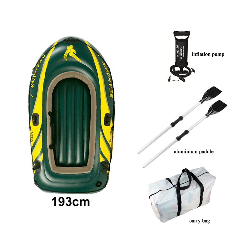 inflatable sport air raft dinghy 1 person pvc inflatable