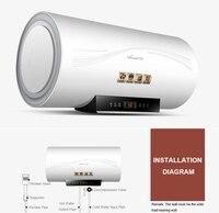 65L Электрический водяной домашний обогреватель ускоренного нагрева воды машина с высокой эффективной стерилизации E65 Q3WY10 21