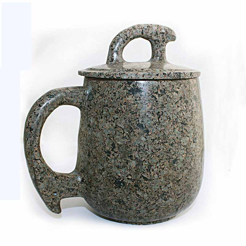 Mongolie intérieure chinois thé tasse Original avec couvercle tasse fonction alcaline 500 ml-in tasses from Maison & Animalerie    1