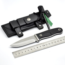 Hot Sale G10 Handle Survival Knife Fixed Blade Knives Hunting Knives Camping Knife With Leather sheath & Ferramentas