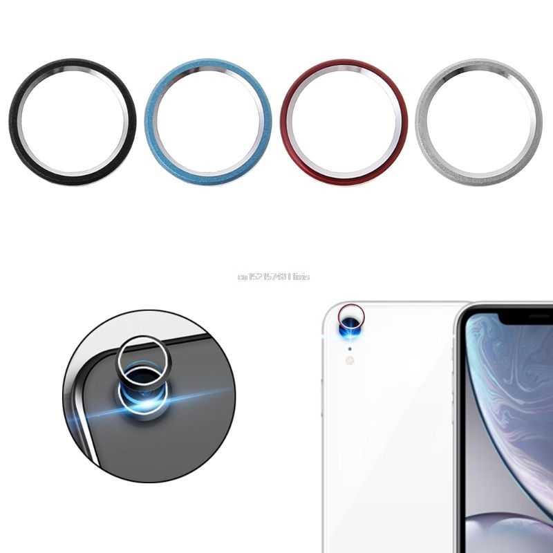 ด้านหลังเลนส์ป้องกันกันชนกล้อง Len หน้าจอป้องกันกรณีโลหะสำหรับ iphone ของ Apple iphone XR
