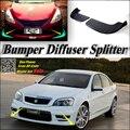 Car Splitter Diffuser Bumper Canard Lip For HSV Grange Tuning Body Kit / Front Deflector Car Flap Fin Chin Reduce Car BodyKit