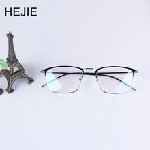 HEJIE Klasik Erkek Alaşım okuma gözlüğü Yüksek Kaliteli 2 yıl Garanti Diopter + 0.5 + 0.75 + 1.0 + 1.25 + 1.5 + 1.75 + 2.0to4.0 Y9452