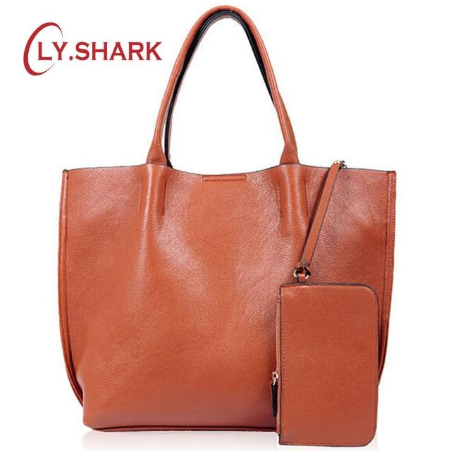 LY SHARK Luxury Handbags Women Bags Designer Female Shoulder Bags Handbags Women Famous Brands Leather Ladies