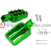 Dirt bike Foot Rest Pit Bike Foot Pegs motorcycle CNC refitting spare parts for motorcross racing