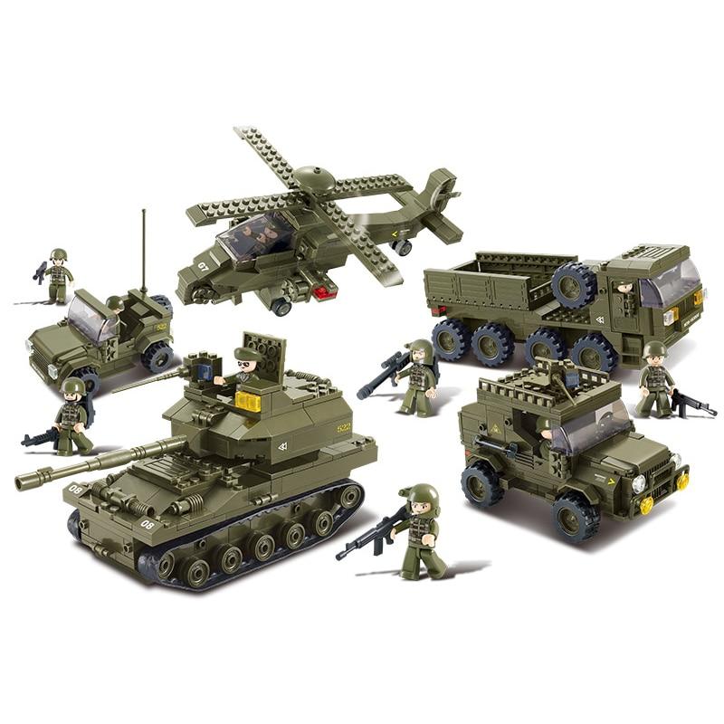 0311 996pcs Military Constructor Model Kit Blocks Compatible LEGO Bricks Toys for Boys Girls Children Modeling0311 996pcs Military Constructor Model Kit Blocks Compatible LEGO Bricks Toys for Boys Girls Children Modeling