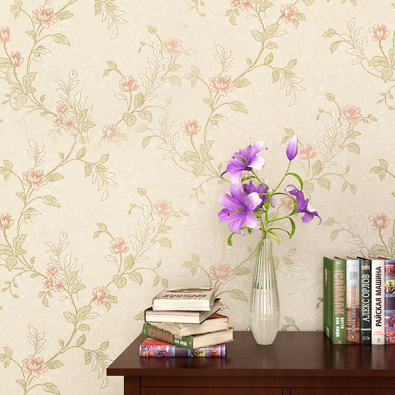 New vintage American Bedroom Wallpapers Pastoral Warm Brands Wedding Wall paper Living Room TV Backdrop Wall coating Nonwovens куртка coccodrillo куртка