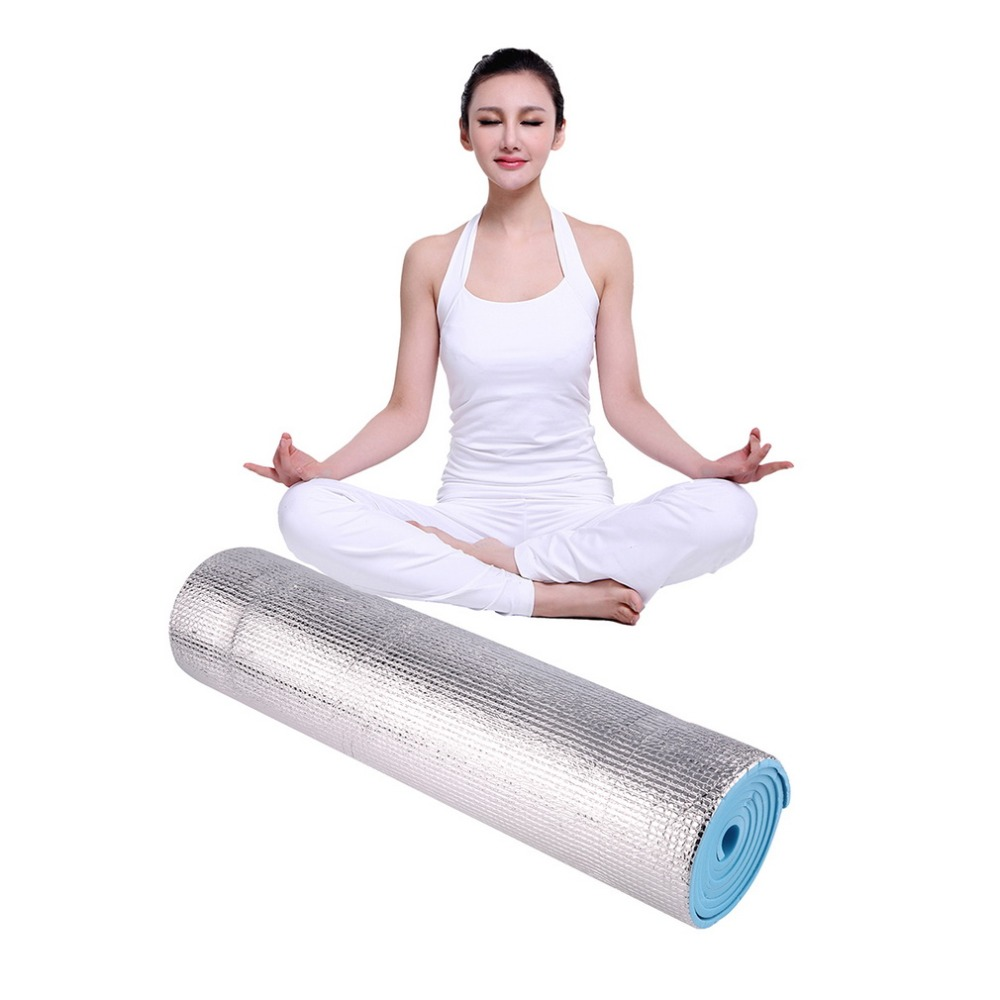 Hot Selling 180x50x0.6cm Aluminium Foam Picnic Yoga Fitness Outdoor Exercise Pad Mats