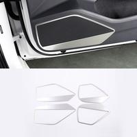 For VW Volkswagen Arteon 2017 2018 Stainless Steel Interior Car Door Speaker Cover Trim 4pcs Car Styling