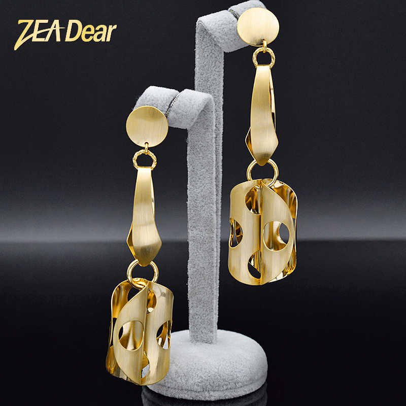 ZEADear Jewelry Fashion Big Earrings For Women Long Drop Dangle Earrings Hot Selling Jewelry Earrings For Party Jewelry Findings