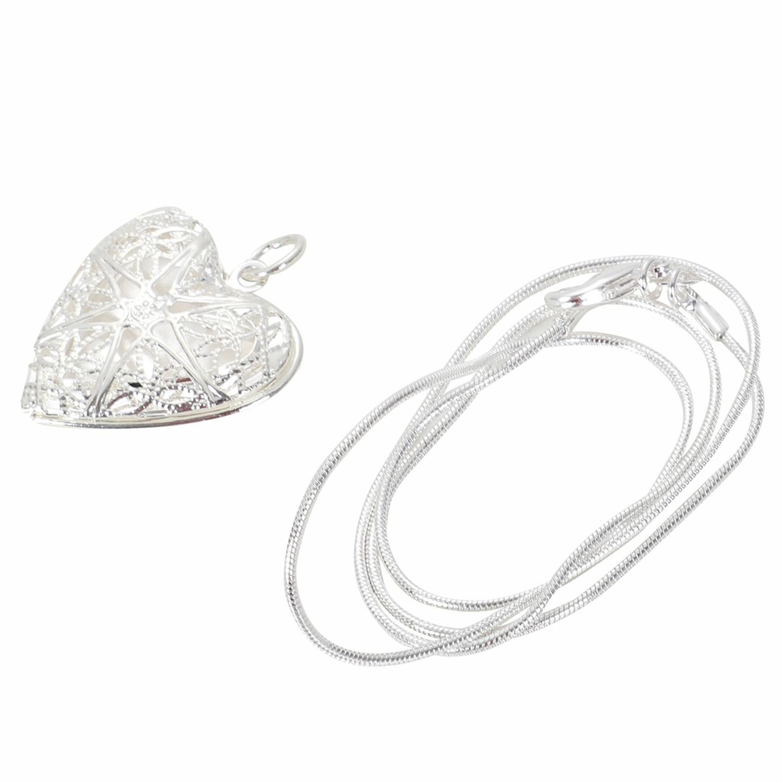 Aliexpress Buy Fashion Woman Heart Hollow Necklace Pendant