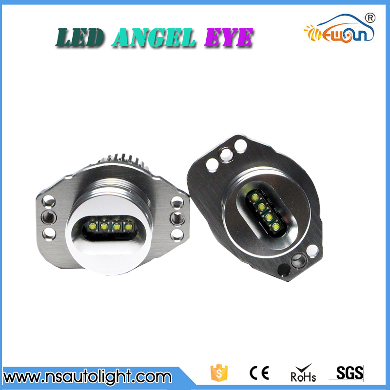 Error free 20w led marker for BMW 3 series e90 e91 LCI xenon real Cree CHIPs angel eyes headlights for car