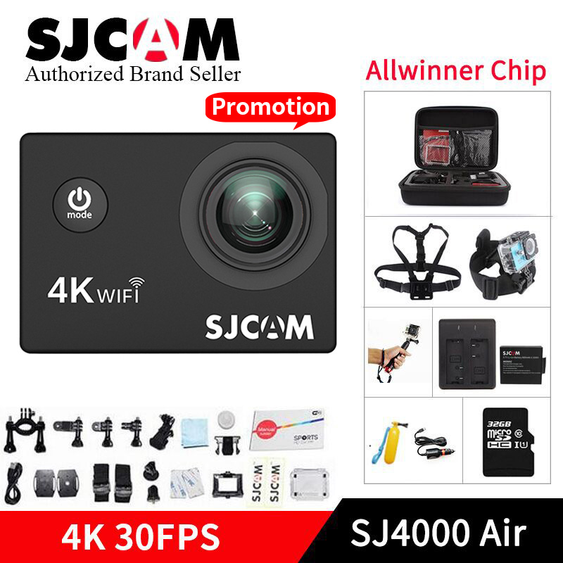 SJCAM SJ4000 AIR 4 K Action Camera Full HD Allwinner 4 K 30fps WIFI Sport DV 2.0