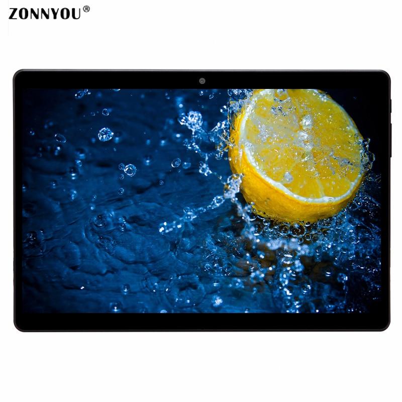 10.1 inch Tablets PC Android 7.0 IPS 1920*1080 HD 3G Call  Octa Core 4GB RAM 32GB Dual SIM 5.0MP GPS Bluetooth Wi-Fi Tablet PC gps навигатор lexand sa5 hd