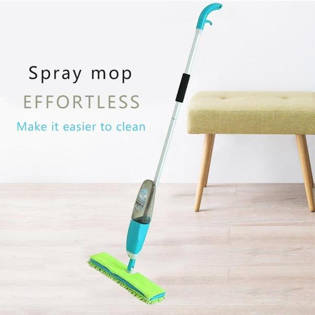 Multifunction Spray Mop Ceramic Wooden Floor Automatic Mop Dry Home