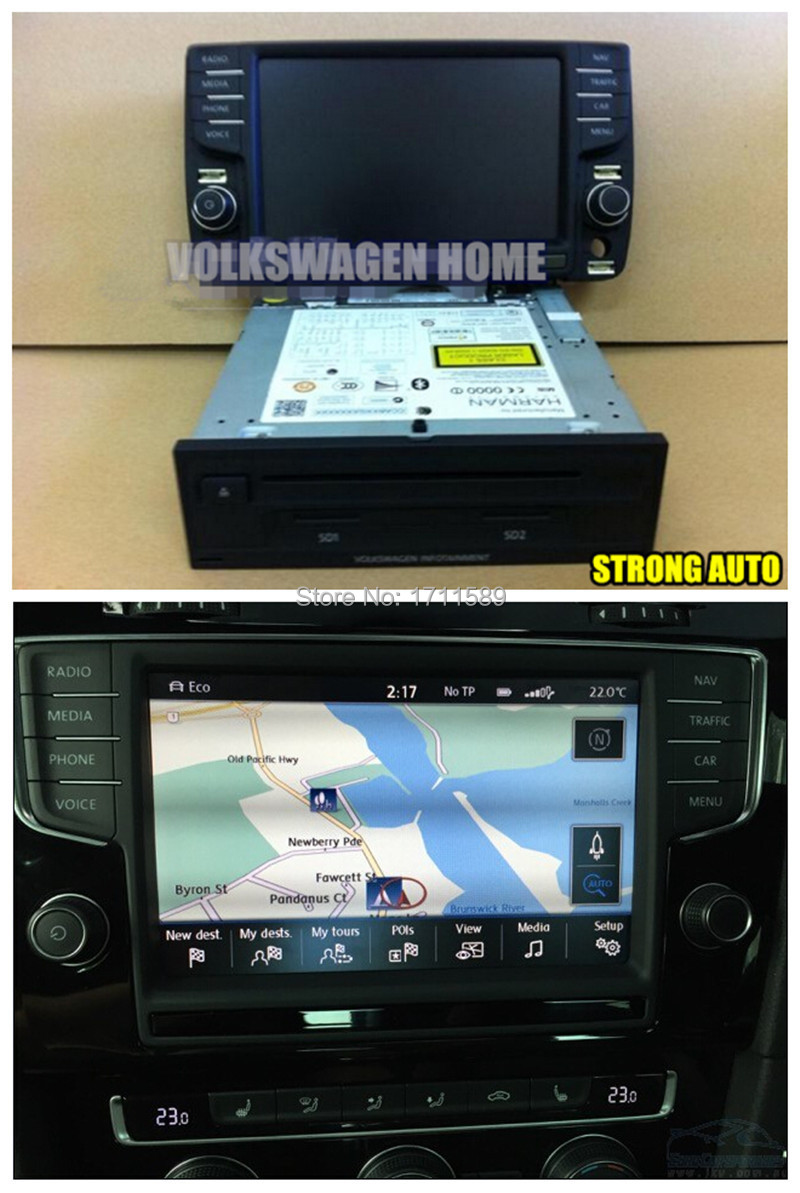 genuine vw golf 7 vii golf r infotainment discover media. Black Bedroom Furniture Sets. Home Design Ideas